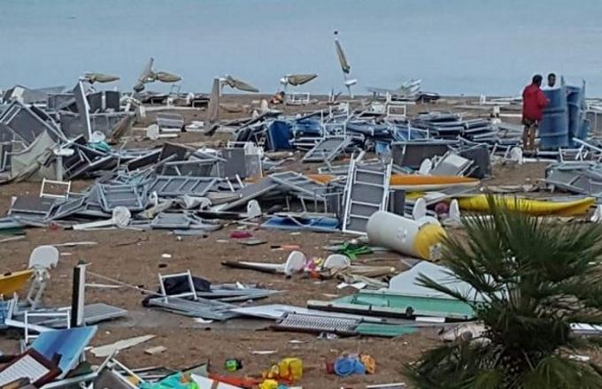 Piogge e temporali: allerta maltempo in tutt'Italia